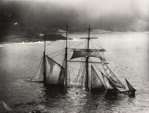 the-mildred-was-travelling-from-newport-to-london-when-it-got-stuck-in-dense-fog-and-hit-rocks-at-gurnards-head-at-midnight-on-the-6th-april-1912